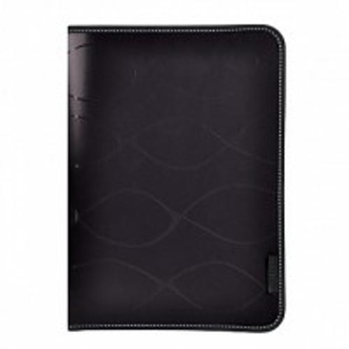 Папка на молнии inФОРМАТ SAFE А4 черный пластик 0,5 мм карман