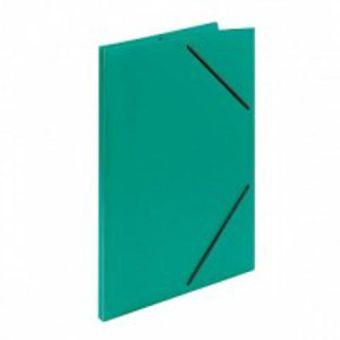 Папка с резинкой inФОРМАТ А4 зеленый пластик 33 мм