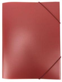 Папка с резинкой inФОРМАТ А4 красный пластик 33 мм