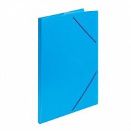 Папка с резинкой inФОРМАТ А4 синий пластик 33 мм