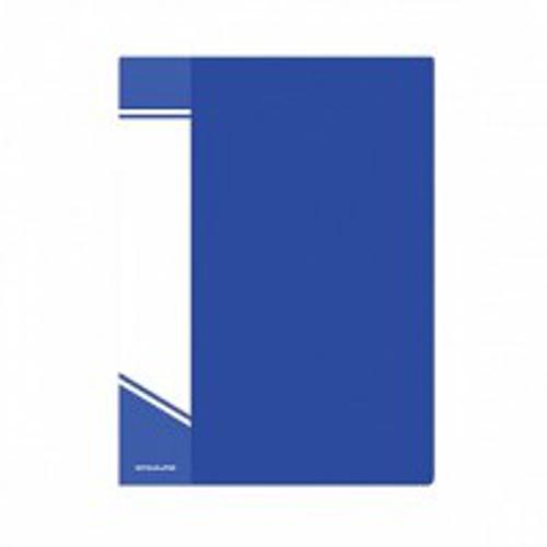Папка с файлами inФОРМАТ 20 файлов А5 синий пластик карман