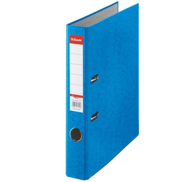 Папка-регистратор ESSELTE RAINBOW А4 синий картон 50 мм