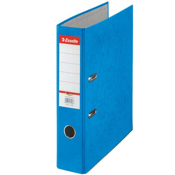 Папка-регистратор ESSELTE RAINBOW А4 синий картон 75 мм