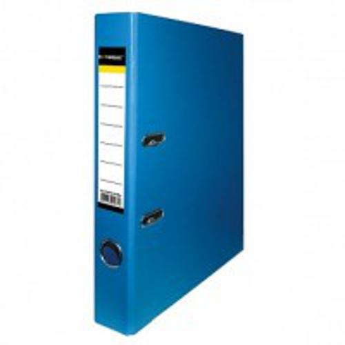 Папка-регистратор inФОРМАТ PVC А4 ярко-син. картон 55 мм метал.окант. карман