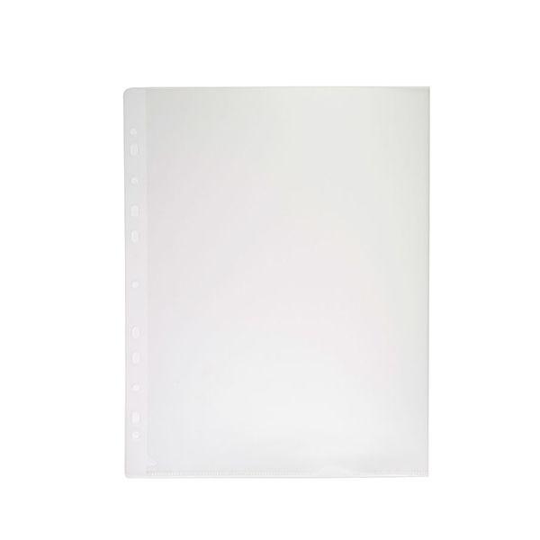 Папка-уголок РЕГИСТР А4 прозрачный пластик