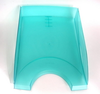 Планшет inФОРМАТ А4 синий картон+ПВХ с зажимом