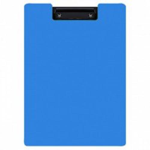 Планшет inФОРМАТ А4 черно-синий пластик с зажимом с крышкой