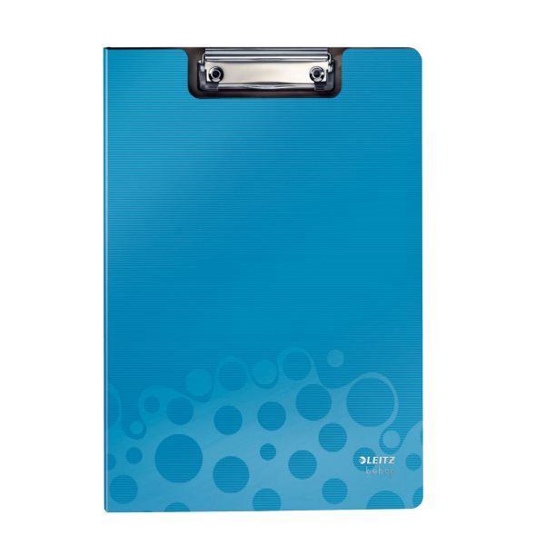 Планшет LEITZ BEBOP А4 синий пластик с зажимом с крышкой