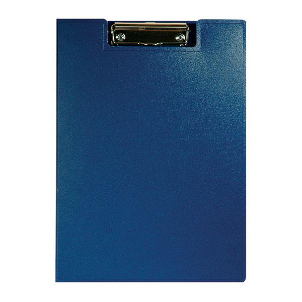 Планшет РЕГИСТР А4 синий пластикс зажимом с крышкой