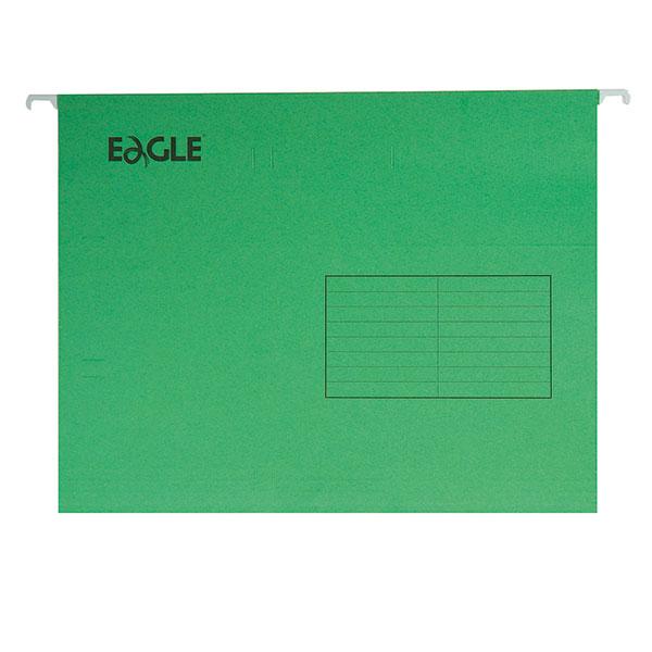 Папка подвесная EAGLE А4 ассорти картон