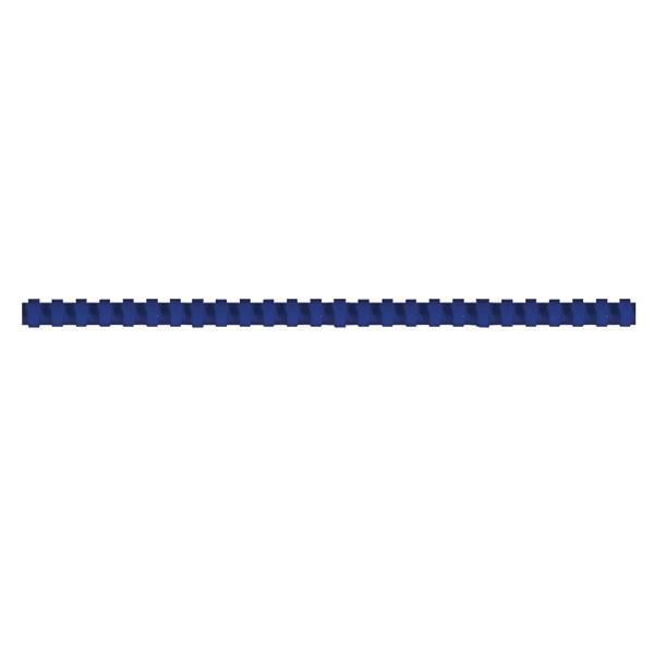Пружина д/переплета FELLOWES 10 мм синий пластик А4 0 мкм 100 шт