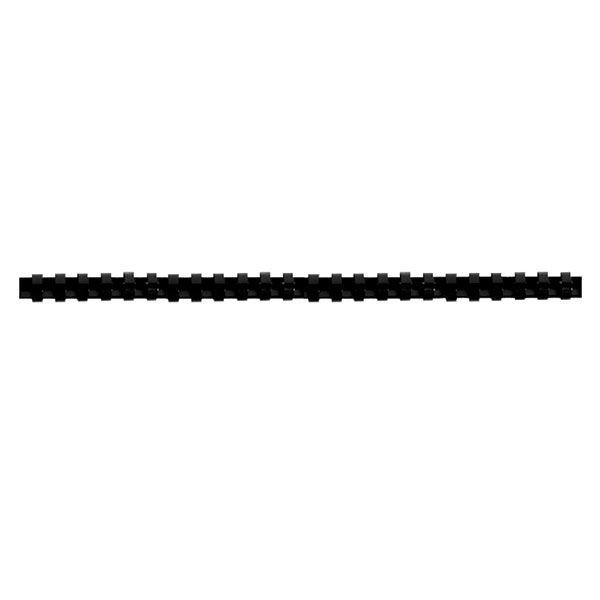Пружина д/переплета FELLOWES 10 мм черный пластик А4 0 мкм 100 шт