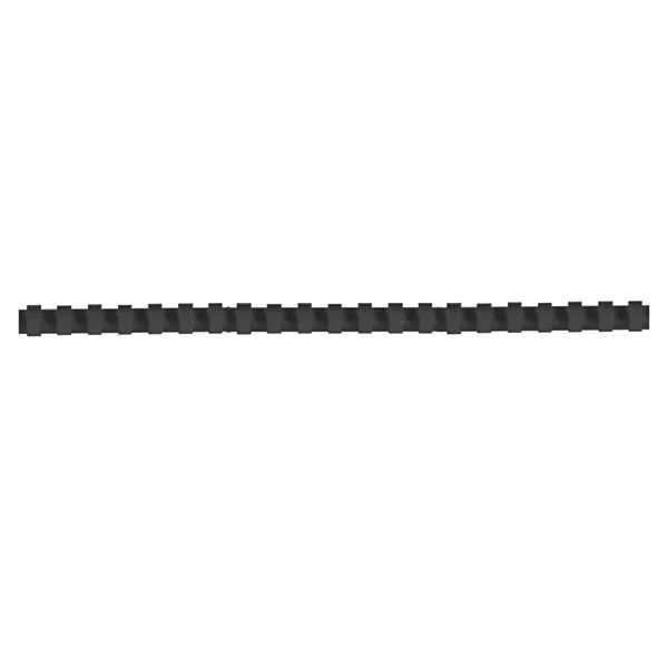 Пружина д/переплета FELLOWES 12 мм черный пластик А4 0 мкм 100 шт