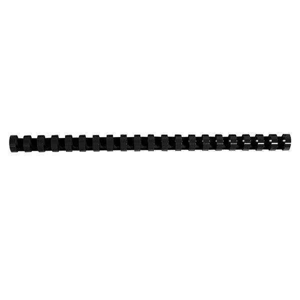 Пружина д/переплета FELLOWES 14 мм черный пластик А4 0 мкм 100 шт