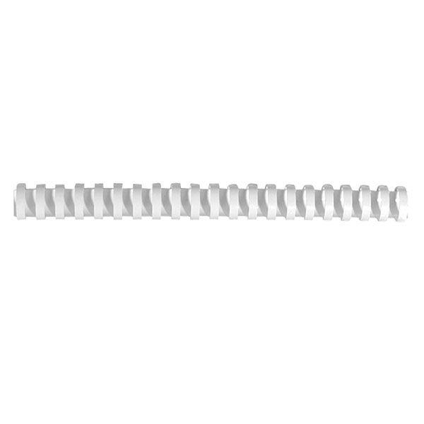 Пружина д/переплета FELLOWES 16 мм белый пластик А4 0 мкм 100 шт