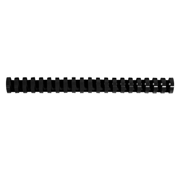 Пружина д/переплета FELLOWES 16 мм черный пластик А4 0 мкм 100 шт