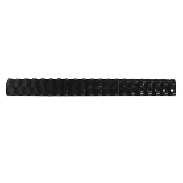 Пружина д/переплета FELLOWES 19 мм черный пластик А4 0 мкм 100 шт