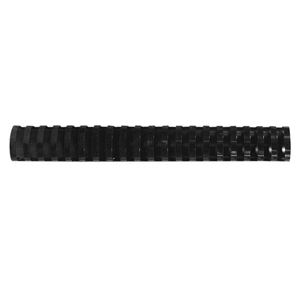 Пружина д/переплета FELLOWES 25 мм черный пластик А4 0 мкм 50 шт