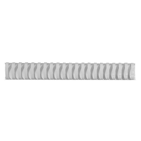 Пружина д/переплета FELLOWES 38 мм белый пластик А4 0 мкм 50 шт