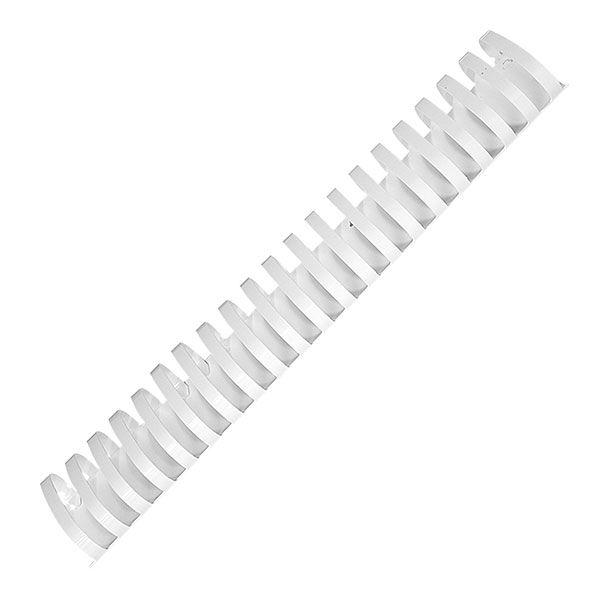 Пружина д/переплета FELLOWES 51 мм белый пластик А4 0 мкм 50 шт