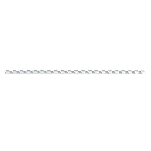 Пружина д/переплета FELLOWES 6 мм белый пластик А4 0 мкм 100 шт