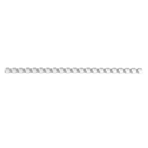 Пружина д/переплета FELLOWES 8 мм белый пластик А4 0 мкм 100 шт