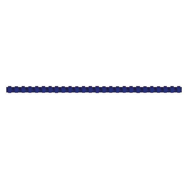 Пружина д/переплета FELLOWES 8 мм синий пластик А4 0 мкм 100 шт