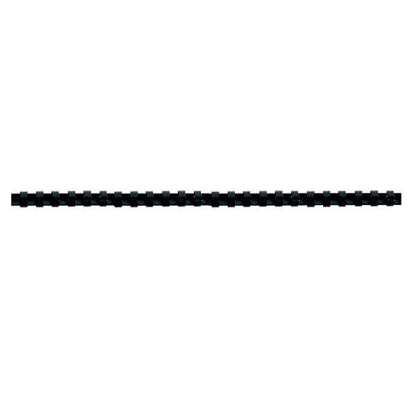 Пружина д/переплета FELLOWES 8 мм черный пластик А4 0 мкм 100 шт