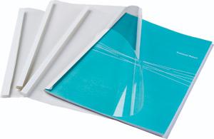 Термообложка FELLOWES 25 мм пластик/картон А4 250 мкм 50 шт/уп