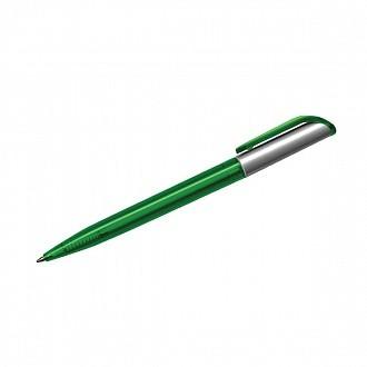 Ручка д/логотипа inФОРМАТ КАРОЛИНА 0,70 мм зелен.корп. автомат.