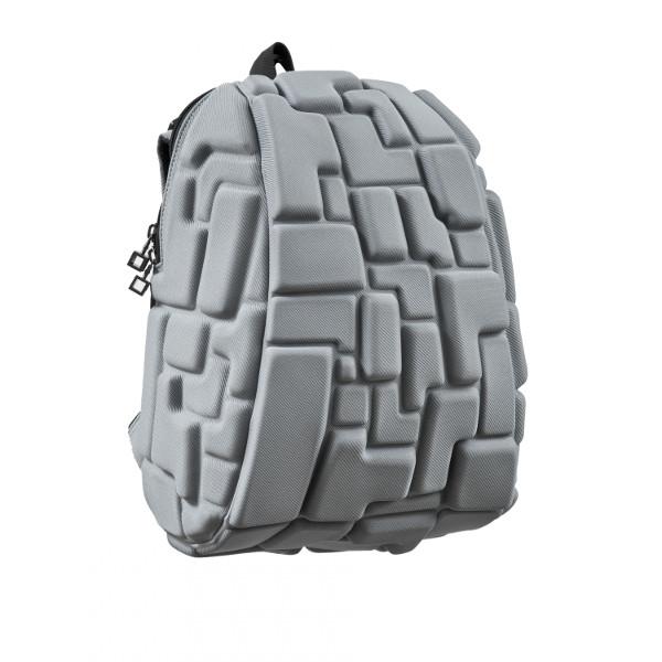 Рюкзак BLOK HALF 35х30х15 см серый