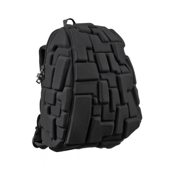 Рюкзак BLOK HALF 35х30х15 см черный