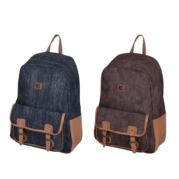 Рюкзак подрост. COLLAGE 1 отд. мягк. каркас передний карман ткань
