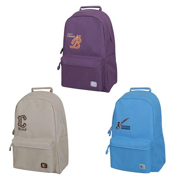 Рюкзак подрост. SIMPLICITY 1 отд. мягк. каркас передний карман ткань
