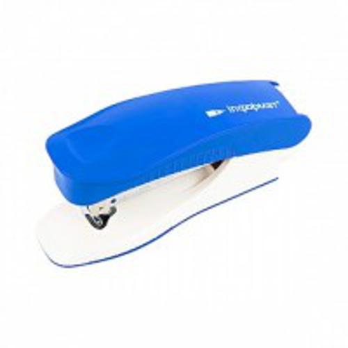 Степлер ERGONOMICS синий комбинированный № 24/6 30 л.