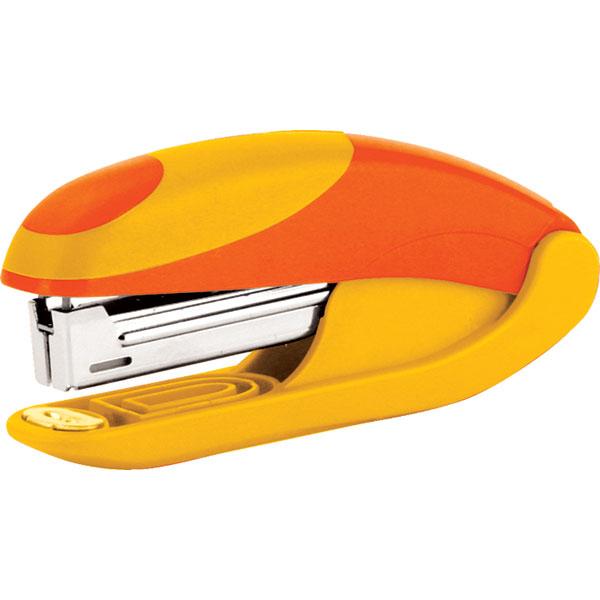 Степлер OMAX желт/оранж комбинированный№ 10 15 л.
