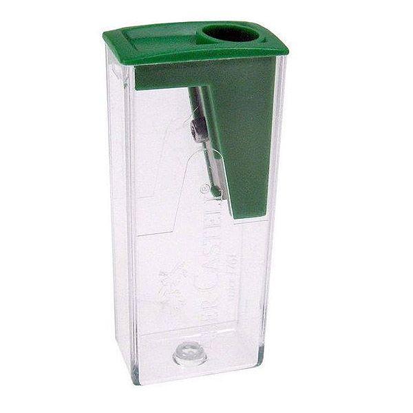 Точилка FABER с контейнером зел.