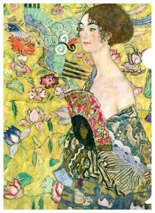 Климт (дама с веером)