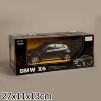 Машина р/у rastar bmw x6 1:24 со светом, цвет в ассорт. в кор.