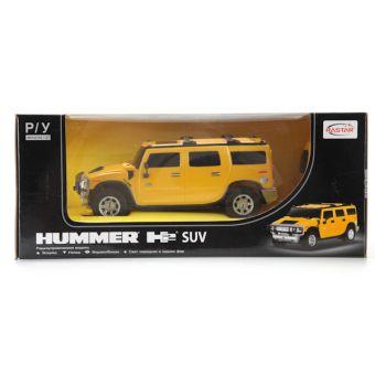 Машина р/у rastar hummer h2 suv 1:27 со светом, цвет в ассорт. в кор.