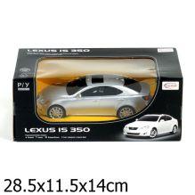 Машина р/у rastar lexus is 350 1:24, со светом, цвет в ассорт. в кор.