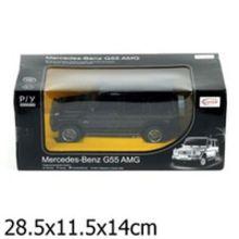 Машина р/у rastar mercedes g55 1:24, со светом, цвет в ассорт. в кор.