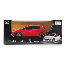Машина р/у rastar peugeot 308 1:24, цвет в ассорт.