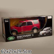 Машина р/у на аккум. rastar land rover 1:10, открыв. двери, капот и багажник в кор.