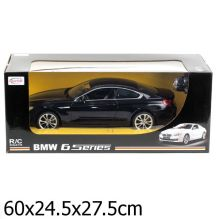 Машина р/у на аккум. rastar new bmw 6s r/c 1:10 со светом, цвет в ассорт. в кор.