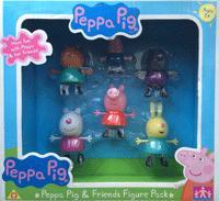 """Игр. набор """"Пеппа и друзья"""" 6 фигурок, т.м. Peppa"""