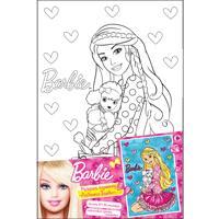 "Н-р:росп.по холсту ""ЛЮБИМАЯ БАРБИ"", 20*30см_Barbie BARBIE"