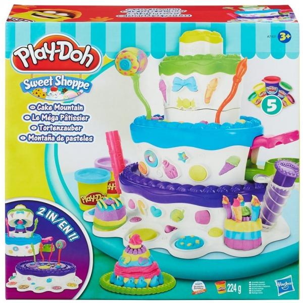 """PLAY-DOH - Play-Doh Игровой набор """"Праздничный торт"""" (A7401) обложка книги"""