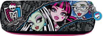 Пенал-косметичка, Размер 17 х 6 х 4 см, упак. 12//144 шт. Monster High