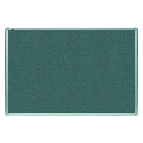 Доска текстильная 120х90 см серая алюм. рама